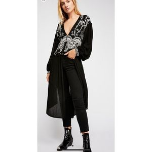 Free people high line sky maxi top